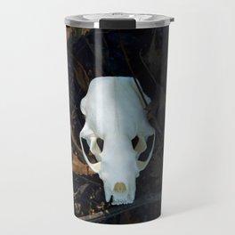 mink skull Travel Mug