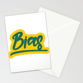 Famous & Fabulous Bias Tshirt Design Bias Stationery Cards