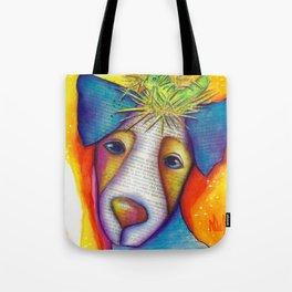 Dog Bird Nest Jack Russell Terrier Original Art The Nest Tote Bag