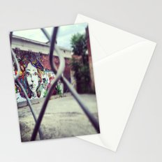 Girl on the Wall Stationery Cards