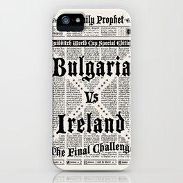 Harry Potter Daily Prophet iPhone Case