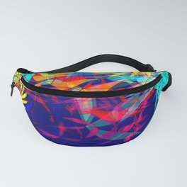 Flowers of the ocean Fanny Pack