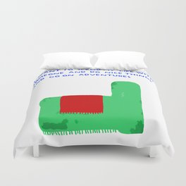 Adventures Duvet Cover