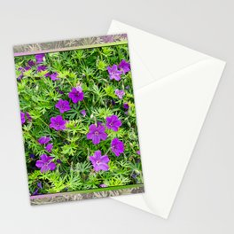 "TRUE SPECIE HARDY GERANIUM ""TINY MONSTER"" Stationery Cards"
