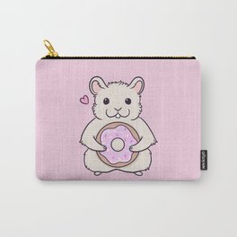 Donut Hamster Carry-All Pouch