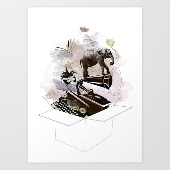 Box of life Art Print