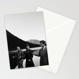 Collage Bande à part (Band of Outsiders) - Jean-Luc Godard Stationery Cards