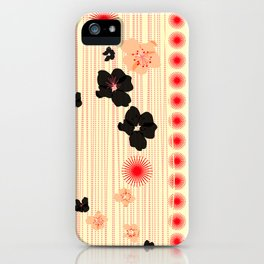 spotted blooms iPhone Case
