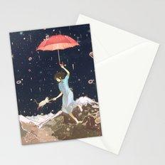 Rain returns Night Stationery Cards