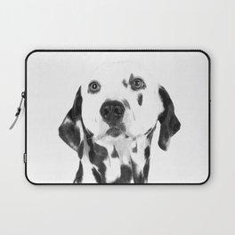 Black and White Dalmatian Laptop Sleeve