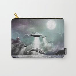 Whaling UFO Carry-All Pouch