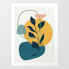 Abstract Modern Art 16 Art Print