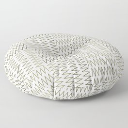 ZigZag (Absolute/Corner) Pattern Floor Pillow