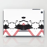 rorschach iPad Cases featuring Rorschach by Isaak_Rodriguez