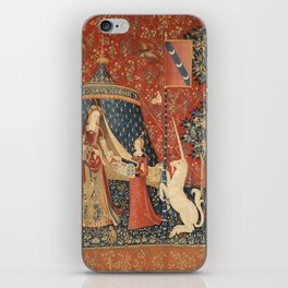 The Lady And The Unicorn iPhone Skin