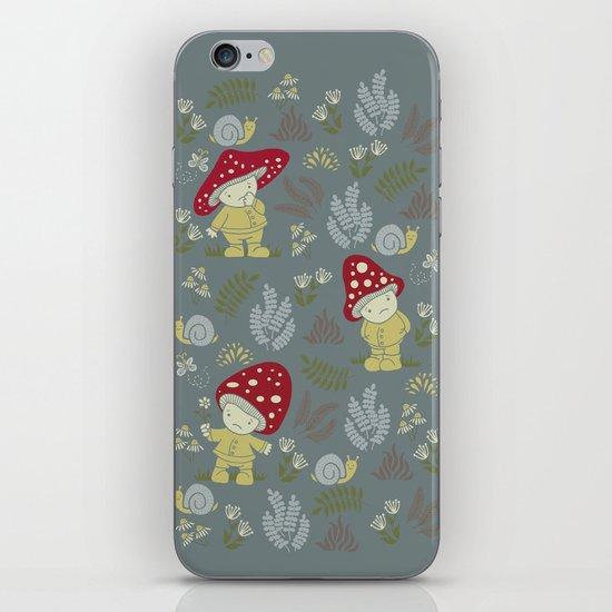 Melancholy Mushrooms iPhone & iPod Skin