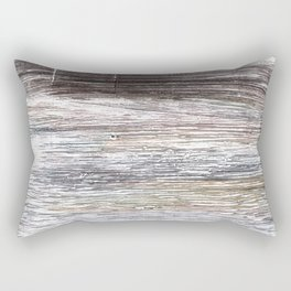 Gray abstract watercolor Rectangular Pillow