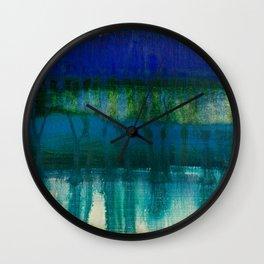 sea and sky meltdown Wall Clock