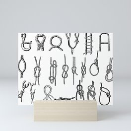 Knotty Mini Art Print