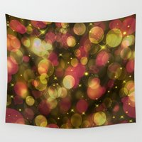 glitter Wall Tapestries featuring glitter by susana