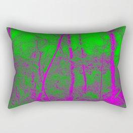 Acid Forest Rectangular Pillow