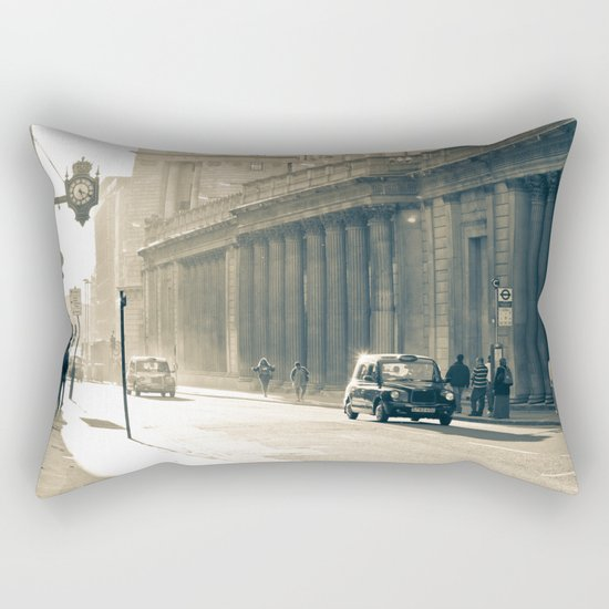 Old street that vanishes Rectangular Pillow