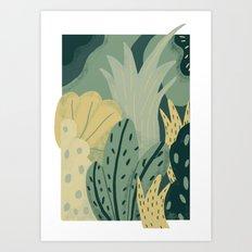 greenery Art Print