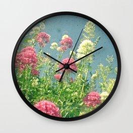 Raspberries and Cream Wall Clock