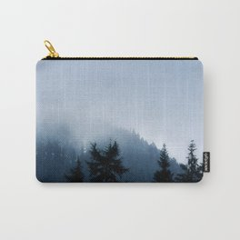 The Grouse Mountain in Fog Carry-All Pouch