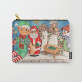 Christmas Dolls Carry-All Pouch