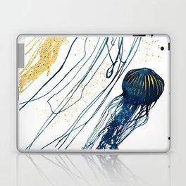 Metallic Jellyfish II Laptop & iPad Skin