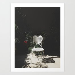 Sit and enjoy Art Print