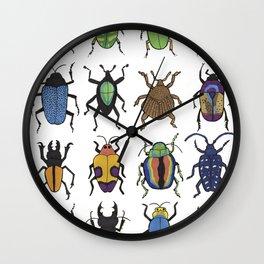Beetle Species Wall Clock