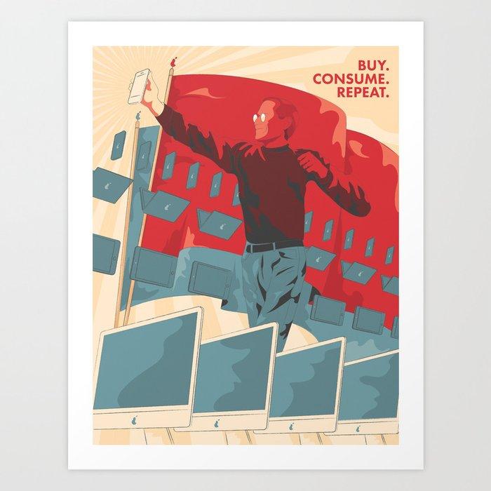Consumerism Art Print