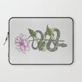 Floral Snake Laptop Sleeve