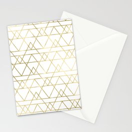 Modern Gold Stationery Cards