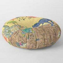 Prehistoric Floor Pillow