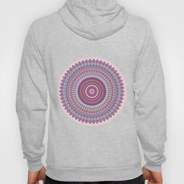 Pastel Mandala in shades on pink and purple Hoody