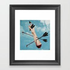 Arrows 2 Framed Art Print