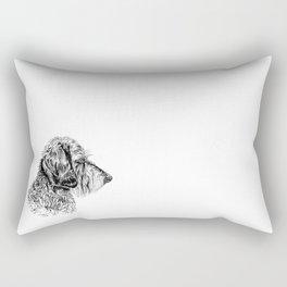 Teckel Rectangular Pillow