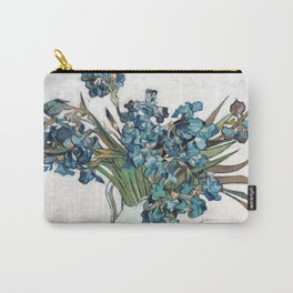 Vincent Van Gogh - Irises (new color editing) Carry-All Pouch