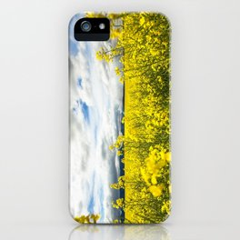 Fields of yellow - Floral Photography #Society6 iPhone Case