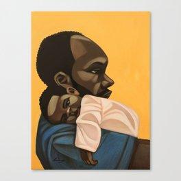 bonded Canvas Print