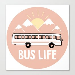 Bus Life Canvas Print