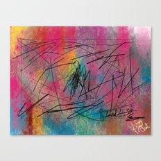 Facing Randomness. Canvas Print