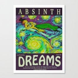 Absinth Canvas Print