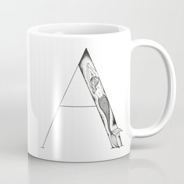 Mermaid Alphabet Series - A Coffee Mug