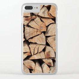 Stock for winter Clear iPhone Case