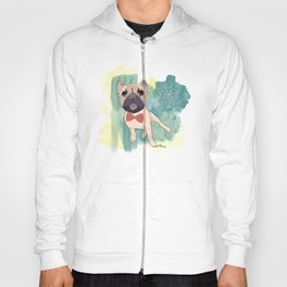 Frenchie Art. Bruno. Hoody