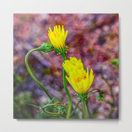Desert Yellow Bloom Metal Print